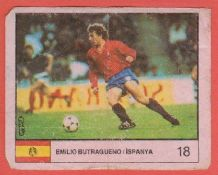 Spain Emilio Butragueno Real Madrid 18